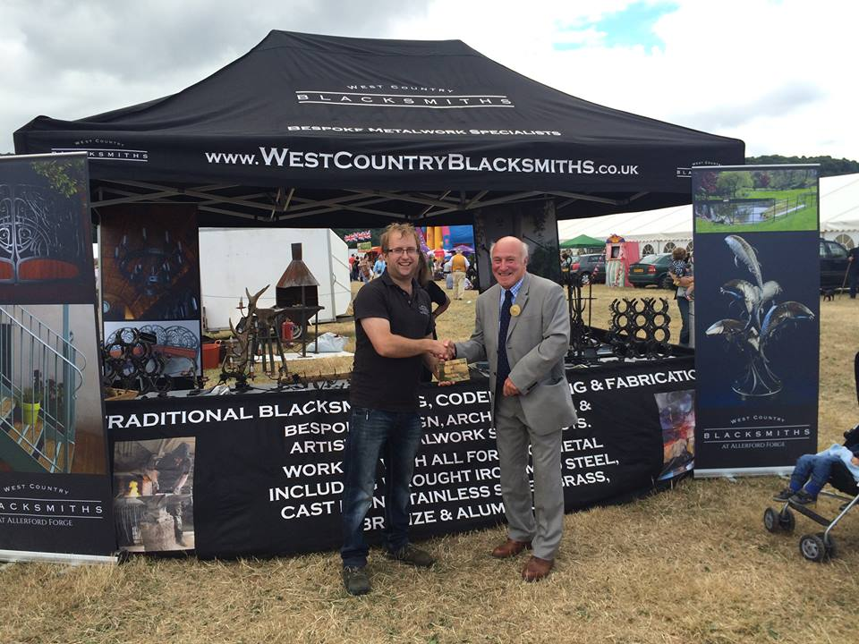 Show's winning trader stand