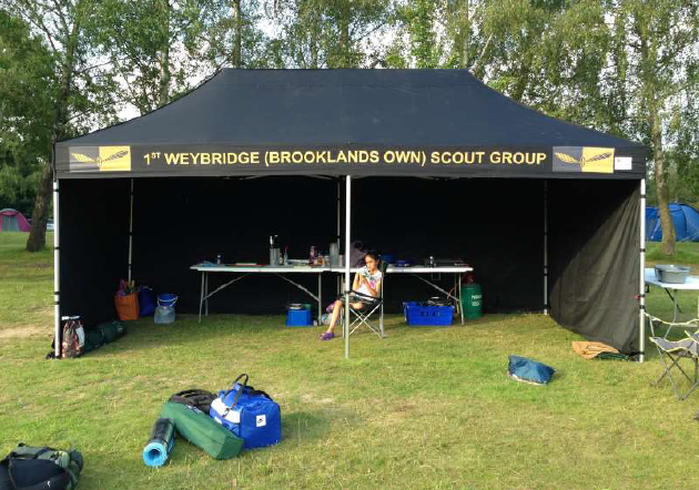 Weybridge Scouts Group gazebo
