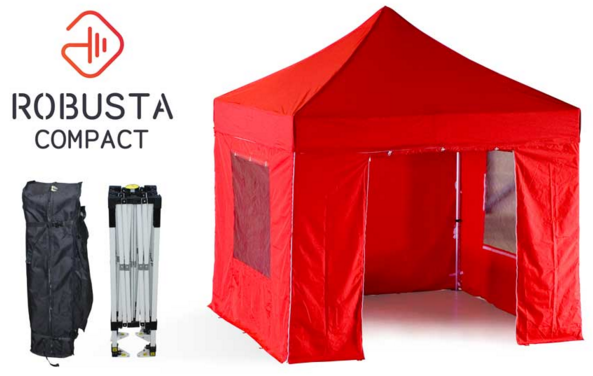 The Robusta-Compact gazebo size